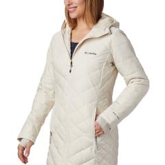 Women's Heavenly Long Hooded Jacket - Extended Sizes