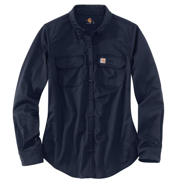 f564acc6ff794 Carhartt Women's FR Rugged Flex Twill Shirt | Free Shipping