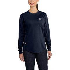 Carhartt Women's FR Force Cotton Long Sleeve Crew T-Shirt