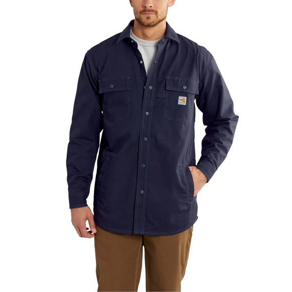 Carhartt Men's FR Full Swing Quick Duck Shirt Jac - Discontinued Pricing