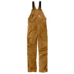 Men's FR Quick Duck Lined Bib Overall