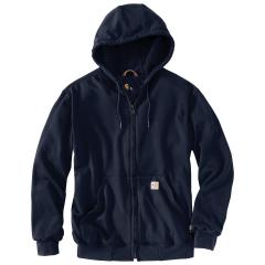 Men's Flame Resistant Heavyweight Hooded Zip Front Sweatshirt