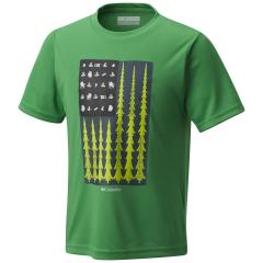 Boys' Badge N' Flag Short Sleeve Shirt