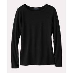 Women's Long Sleeve Cotton Rib Crew