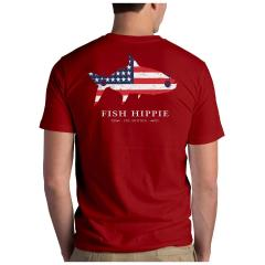 Men's Patriotic Tarpon Tee