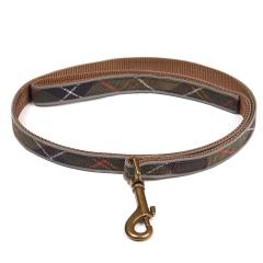 Barbour Reflective Tartan Dog Lead