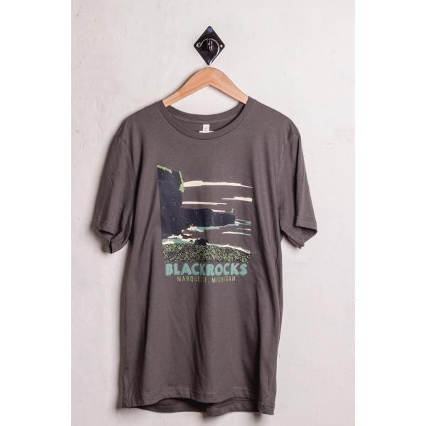 UP Logowear MQT Blackrocks T-Shirt