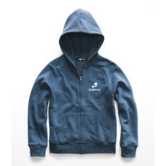 Girls' Logowear Full Zip Hoodie - Past Season