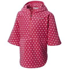 Youth Girls' Benton Springs Printed Half Zip Poncho