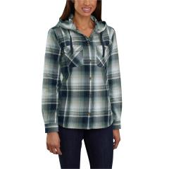 Women's Beartooth Hooded Flannel Shirt - Discontinued Pricing