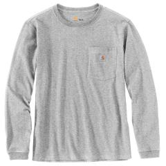 Women's WK126 Workwear Pocket Long Sleeve T-Shirt