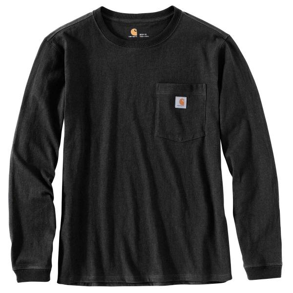 Carhartt Women's WK126 Workwear Pocket Long Sleeve T-Shirt