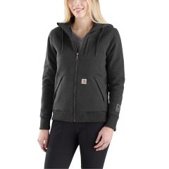 Women's Rain Defender Rockland Quilt Lined Full Zip Hooded Sweatshirt - Discontinued Pricing