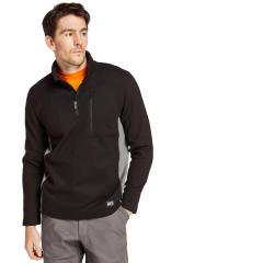 Men's Studwall Quarter-Zip Textured Fleece Shirt