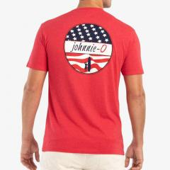 johnnie-O Men's Star Spangled Tee