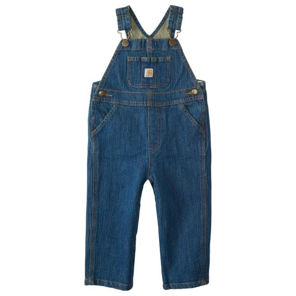 Carhartt Infant and Toddler Boys' Washed Denim Bib Overall
