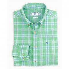 Men's Shell Point Plaid Sport Shirt