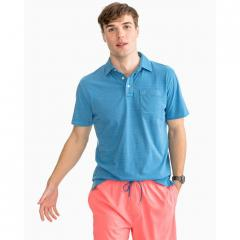 Men's Micro Stripe Island Road Jersey Polo
