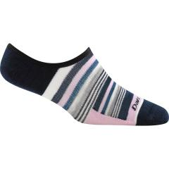 Women's Topless Multi Stripe No Show Hidden Lightweight