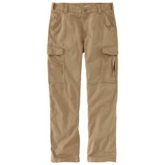 Men's Rugged Flex Relaxed Fit Canvas Cargo Work Pant