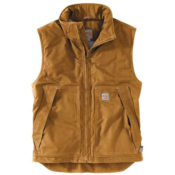 Carhartt Men's Flame-Resistant Quick Duck Vest