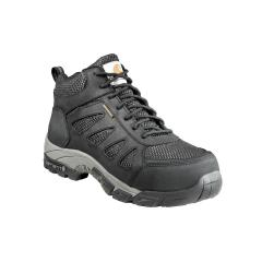 Men's Lightweight Black WP Work Hiker Carbon Nano Toe