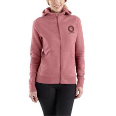 Carhartt Women's Force Delmont Graphic Zip Front Hooded Sweatshirt - Discontinued Pricing