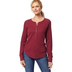 Women's Long Sleeve Thermal Henley