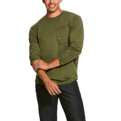 Men's Rebar Workman Long Sleeve T-Shirt - Pine Green