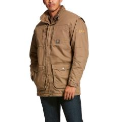 Men's Rebar Washed DuraCanvas Insulated Coat