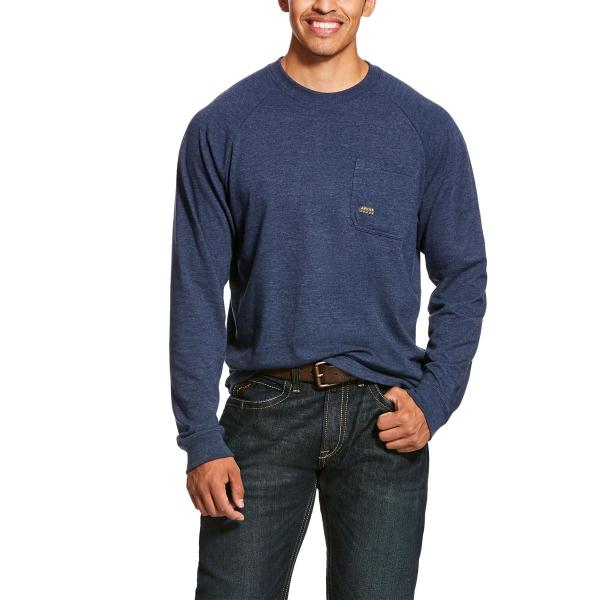 Ariat Men's Rebar Cottonstrong Long Sleeve T-Shirt