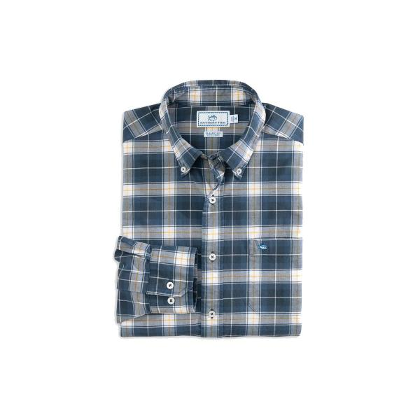 Southern Tide Men's Standing Stone Plaid Sportshirt