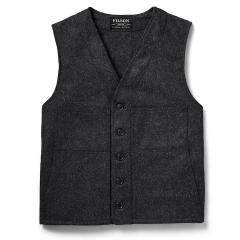 Men's Mackinaw Wool Vest - Extra Long