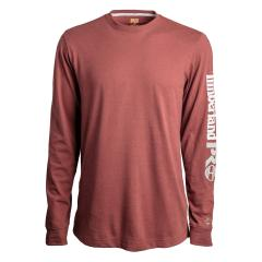 Men's Base Plate LS T-Shirt With Logo