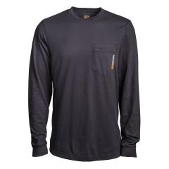 Men's Long Sleeve Blended Pocket T-Shirt