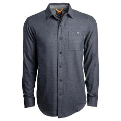 Men's Woodfort Mid-Weight Flannel Work Shirt