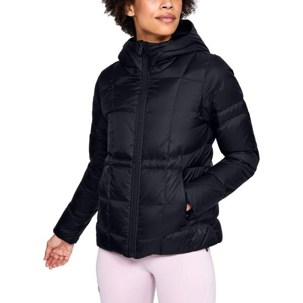 womens black under armour jacket