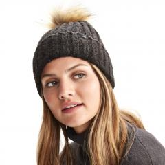 Women's Boiled Wool Beanie