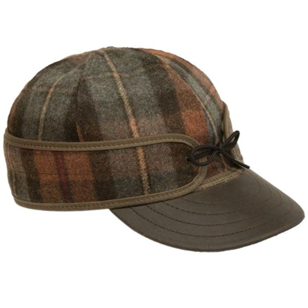 Stormy Kromer Men's Original Cap with Leather