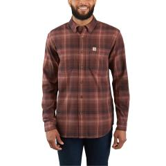 Men's Rugged Flex Hamilton Plaid Long Sleeve Shirt - Discontinued Pricing