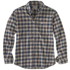 Men's Rugged Flex Hamilton Plaid Long Sleeve Shirt