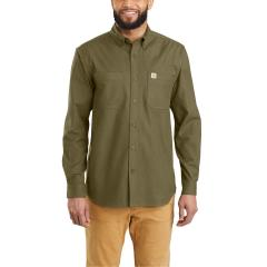 Men's Rugged Flex Hamilton Solid Long Sleeve Shirt