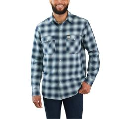 Men's Rugged Flex Hamilton Snap Front Plaid