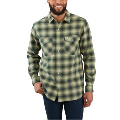 Men's Rugged Flex Hamilton Snap Front Plaid - Discontinued Pricing