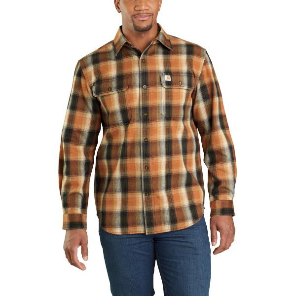 Carhartt Men's Hubbard Flannel Long Sleeve Shirt - Discontinued Pricing