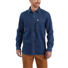 Men's Denim Long Sleeve Shirt