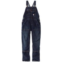 Women's Denim Double Front Bib Overalls