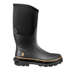 Men's 15 Inch Waterproof Rubber Boot Carbon Nano Toe