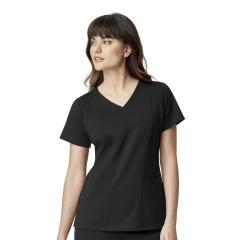 Wink Scrubs Ponte Knit V-Neck Top Extended Sizes