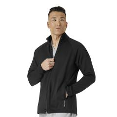 Wink Scrubs Men's Fleece Full Zip Jacket